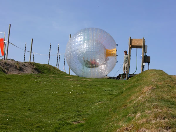 Zorbing Muir Of Ord, Ross-shire, Ross-Shire